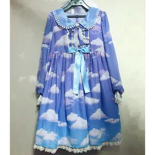 アンジェリックプリティー(Angelic Pretty)のMisty Sky Brilliant ColorワンピースSet(ひざ丈ワンピース)