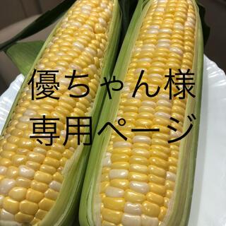 優ちゃん様専用ページ とうもろこし(野菜)
