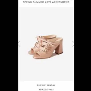 フォクシー(FOXEY)のFOXY ADEAM アディアム 靴 サンダル ミュール 2019年 春夏モデル(ミュール)