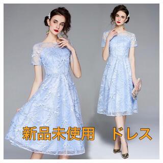 【新品未使用】セレクトショップwildlilyワイルドリリー ドレス ワンピース(ひざ丈ワンピース)