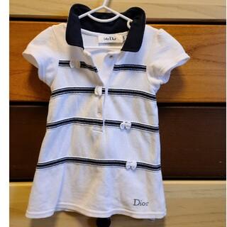 ベビーディオール(baby Dior)の◇babyDior ポロワンピース◇12Mサイズ(ワンピース)