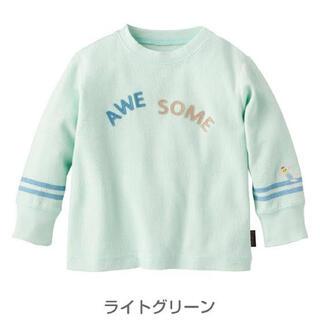 コンビミニ(Combi mini)のコンビミニ  やわらかワッフル 長袖Tシャツ  ロンT  カットソー(Tシャツ/カットソー)