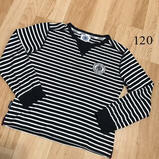 ジェイプレス(J.PRESS)のJ.PRESS ジェープレス  120  長袖 Tシャツ ロンT(Tシャツ/カットソー)