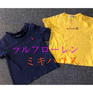 ミキハウス(mikihouse)の専用 ミキハウス&ラルフ 90 半袖Tシャツ(Tシャツ/カットソー)