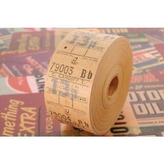 【味紙】◆海外 イギリス ヴィンテージ バス ロールチケット 13p CARDI(印刷物)