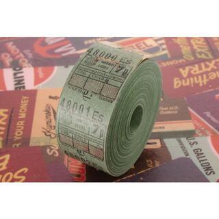 【味紙】◆海外 イギリス ヴィンテージ バス ロールチケット METRO 7p◆(印刷物)