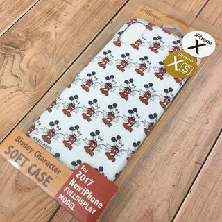 ミッキーマウス(ミッキーマウス)のミッキー iPhoneXs / X スマホケース DN467(iPhoneケース)