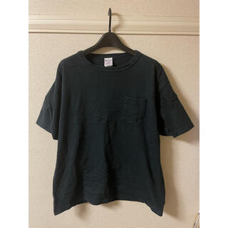 チャンピオン(Champion)のチャンピオン champion Tシャツ カットソー 半袖 ポケット 濃紺 L(Tシャツ/カットソー(半袖/袖なし))