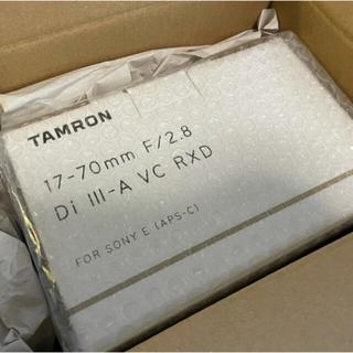 タムロン(TAMRON)のTAMRON  17-70mm F/2.8  (≠sel1655G)(レンズ(ズーム))