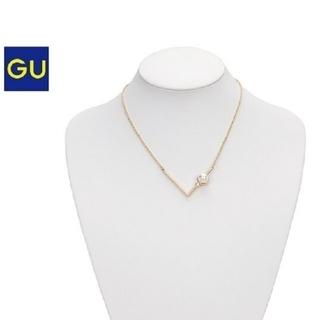 ジーユー(GU)のネックレス レディース パール ジーユー GU ブランド 新品(ネックレス)