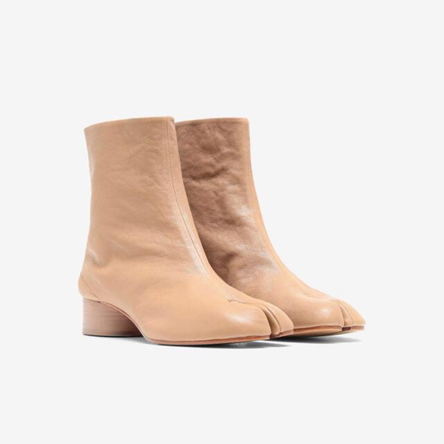 Maison Martin Margiela(マルタンマルジェラ)のメゾンマルジェラ 国内正規品 タビ ヴィンテージ レザー ブーツ レディースの靴/シューズ(ブーツ)の商品写真