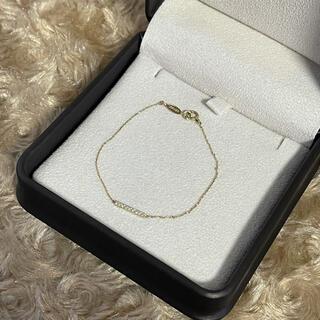 アーカー(AHKAH)のアーカー K18 ティナチェーン ダイヤモンド ブレスレット (ブレスレット/バングル)