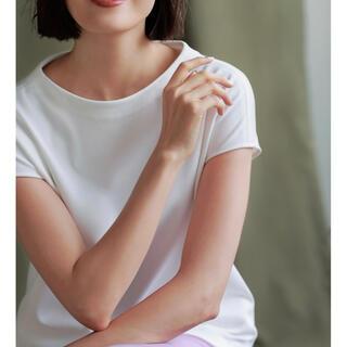 プラステ(PLST)のPLST カルゼモックネックプルオーバー(Tシャツ(半袖/袖なし))