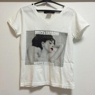 ドルチェアンドガッバーナ(DOLCE&GABBANA)のプリントTシャツ☆Dolce&Gabbana(Tシャツ(半袖/袖なし))