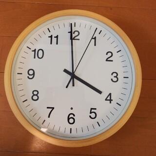 MUJI (無印良品) - 無印良品 電波壁掛け時計