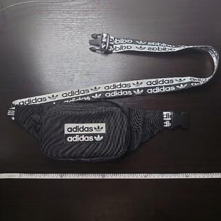 アディダス(adidas)のadidas originals ボディバック ブラック(ボディーバッグ)
