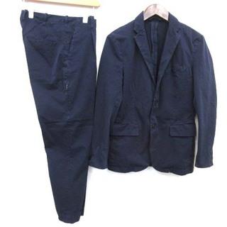 エディフィス(EDIFICE)のエディフィス CURIO S セットアップ スーツ ジャケット パンツ  紺(スーツジャケット)