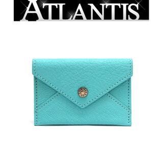 Tiffany & Co. - ティファニー カードケース 名刺入れ ティファニーブルー【53972】