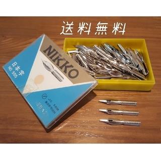ニッコー(NIKKO)の日光ペン 日本字 クローム NO.555 143本 (ペン/マーカー)