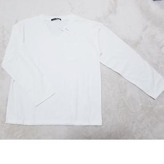 イング(INGNI)のINGNI 新品 オフホワイト 白 Tシャツ 無地 長袖 ロンT(Tシャツ(長袖/七分))