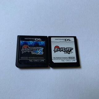 ニンテンドーDS(ニンテンドーDS)のポケモン ブラック2とホワイト(携帯用ゲームソフト)