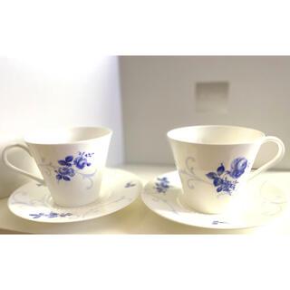 ニッコー(NIKKO)のNIKKO ペアティ&コーヒーセット FINE BONE CHINA(グラス/カップ)
