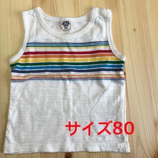 ニシマツヤ(西松屋)のタンクトップ サイズ80(タンクトップ/キャミソール)