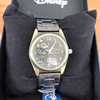 ディズニー(Disney)のディズニー腕時計 mickey  ミッキーマウス ステンレスベルト アンティーク(腕時計(アナログ))