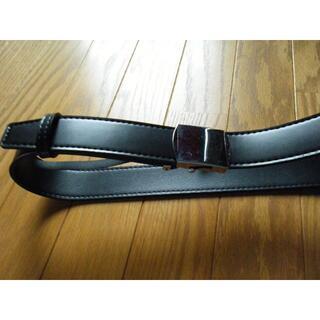 レア 警備 警察 黒帯革ベルト コスプレ(小道具)