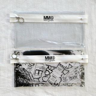 エムエムシックス(MM6)の【新品】MM6 メゾンマルジェラ SPUR付録 ポーチ2個セット(ポーチ)