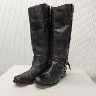 ディーゼル(DIESEL)のDIESEL ディーゼル レザー ロング ブーツ 24cm エンジニア(ブーツ)