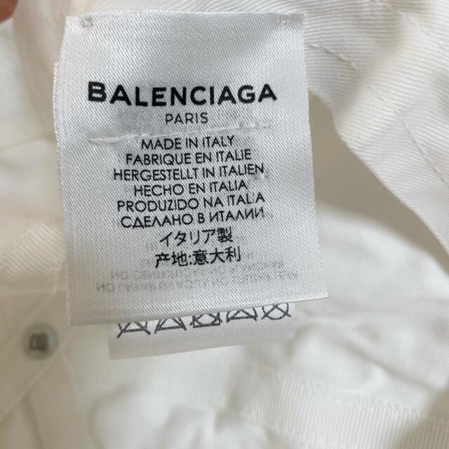Balenciaga(バレンシアガ)の【正規品】BALENCIAGA キャップ ホワイト レディースの帽子(キャップ)の商品写真