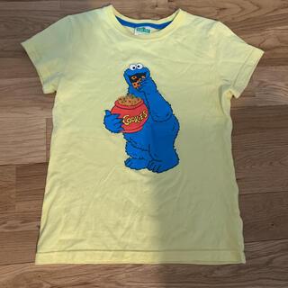 セサミストリート(SESAME STREET)のセサミストリート クッキーモンスター tシャツ 160(Tシャツ/カットソー)