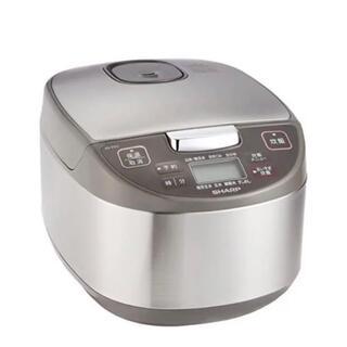 シャープ(SHARP)の2021年5月購入品シャープ炊飯器 5.5合 KS-S10J-S 新品未開封品(炊飯器)