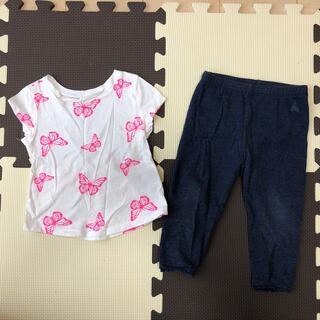 オールドネイビー(Old Navy)の女の子 夏服 80(Tシャツ)