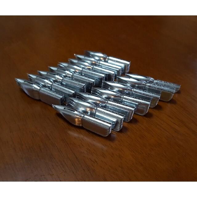 NIKKO(ニッコー)の日光ペン サジ クローム NO.357 142本  インテリア/住まい/日用品の文房具(ペン/マーカー)の商品写真
