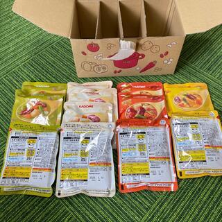 カゴメ(KAGOME)のカゴメ 野菜と豆の具だくさんポタージュ(レトルト食品)
