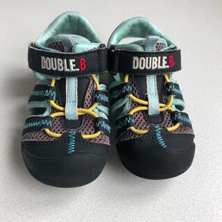 ダブルビー(DOUBLE.B)のDOUBLE.B  サンダル 16.0cm(サンダル)