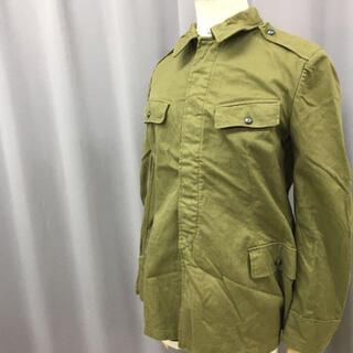 スイスミリタリー(SWISS MILITARY)のmilitary ミリタリージャケット ヴィンテージ 無地 軍物(ミリタリージャケット)