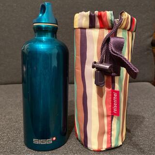 シグ(SIGG)のSIGG トラベラー  グリーン + ボトルカバー(水筒)