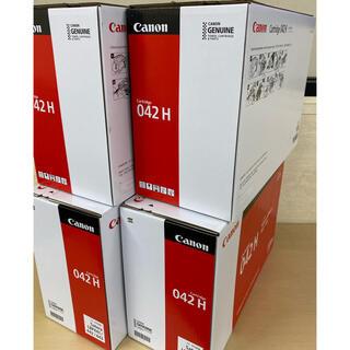 Canon - Canon キヤノン 純正トナーカートリッジ 042H(大容量) × 4箱