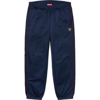 シュプリーム(Supreme)のSupreme Crown track pants S Navy(ジャージ)