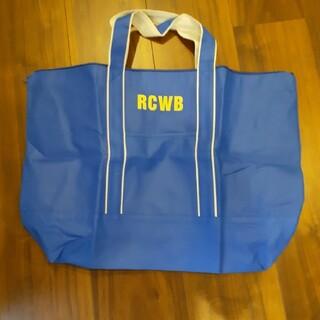 ロデオクラウンズワイドボウル(RODEO CROWNS WIDE BOWL)の未使用 ロデオクラウンズワイドボウル エコバッグ RCWB ブルー 紙(エコバッグ)