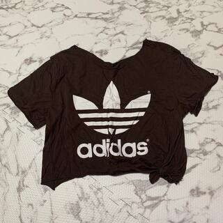 アディダス(adidas)のadidas ショートシャツ(シャツ/ブラウス(半袖/袖なし))