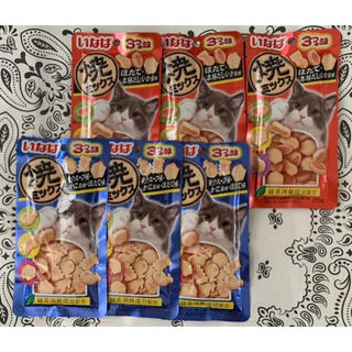 イナバペットフード(いなばペットフード)の♡いなば焼ミックス猫のおやつ♡2種類6(ペットフード)