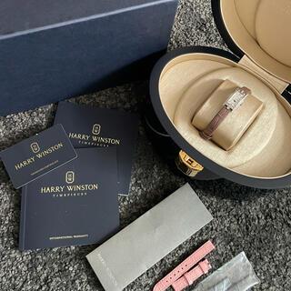 ハリーウィンストン(HARRY WINSTON)のハリーウィンストン アヴェニューCミニ ムーンフェイズ ベルト付き(腕時計)