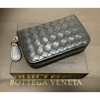 ボッテガヴェネタ(Bottega Veneta)の🔹ボッデガヴェネタ イントレチャートコインケース 黒 【化粧箱付き】🔹 (コインケース/小銭入れ)