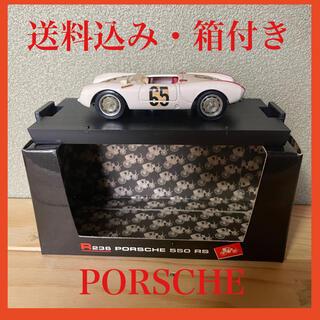 ポルシェ(Porsche)の【箱付き】ミニカー ポルシェ 550 白(ミニカー)
