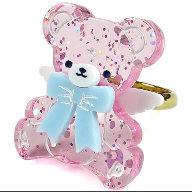 Angelic Pretty(アンジェリックプリティー)のMilkyベアーリング レディースのアクセサリー(リング(指輪))の商品写真