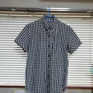 チェックの半袖シャツ(シャツ/ブラウス(半袖/袖なし))